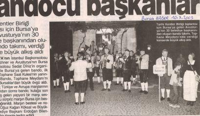 10.07.2003 Türkei